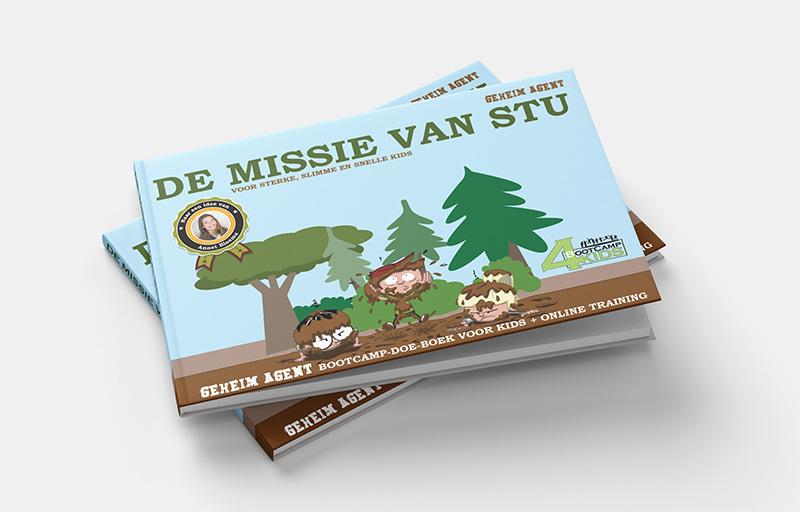 Boek De missie van Stu cover