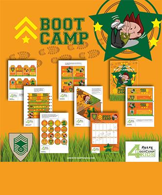 Bootcamp feestpakketje
