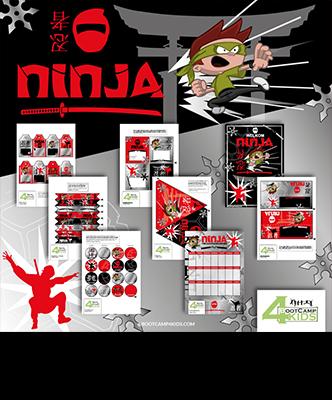 Ninja feestpakketje