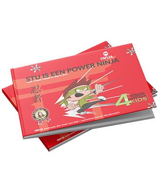 Stu is een Power ninja boek webshop